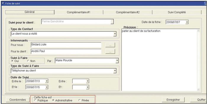 Fiche ressource 2 – Préparer les outils d'aide à la vente II La fiche de suivi du contact